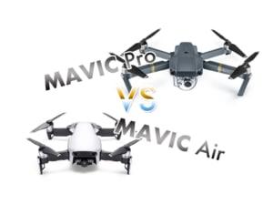【ドローン】DJIのMavic AirとMavic Proのスペック比較まとめ【どっちがおすすめ?】