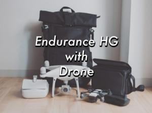 最強大容量カメラバッグEndurance HGはドローンバッグとして使えるのか?