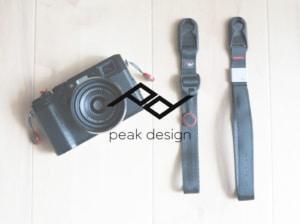 Peak Design CUFF(ピークデザイン カフ)の新型と旧型のカメラストラップの違いを比較
