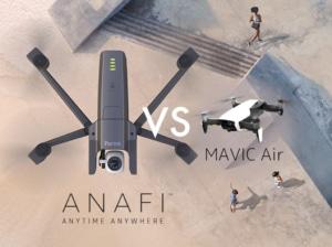 【Parrot】パロットから最新ドローンANAFI(アナフィ)が発表!DJI Mavic Airとの比較