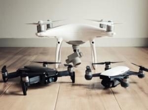 【ドローン実機レビュー】DJI Mavic Air とSpark、Phantom4 Proの実機比較