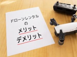【体験レビュー】レンタルでドローン、カメラを使うメリット・デメリットまとめ