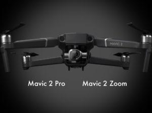 DJI Mavic 2 Pro と Mavic 2 Zoom の違いを比較!どちらがおすすめのドローンか?