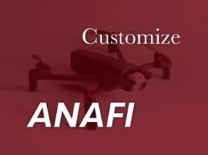 【Parrot ドローン】ANAFIのモーターカバー装着でカスタマイズ