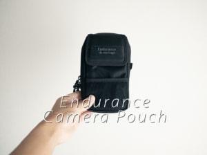 Endurance カメラバッグ用カメラアクセサリー&スマホポーチの使用レビュー