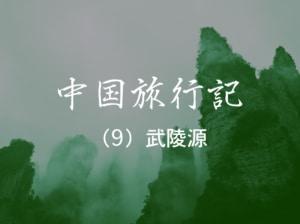 【中国旅行記 NO.9】憧れの地、世界自然遺産の武陵源へ
