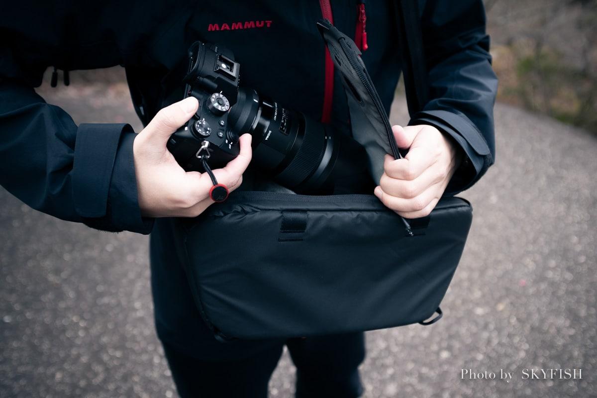 ピークデザイン カメラキューブ