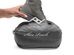 【Peak Design】シューポーチでコンパクトに替え靴を持ち運び【使用レビュー】