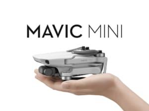 【DJI Mavic Mini レビュー】重量199g!手のひらサイズの折りたたみ超小型ドローン!