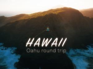 【ハワイ】オアフ島をドローン持って一周してきた!【DJI Mavic2Pro・Mavic Mini】