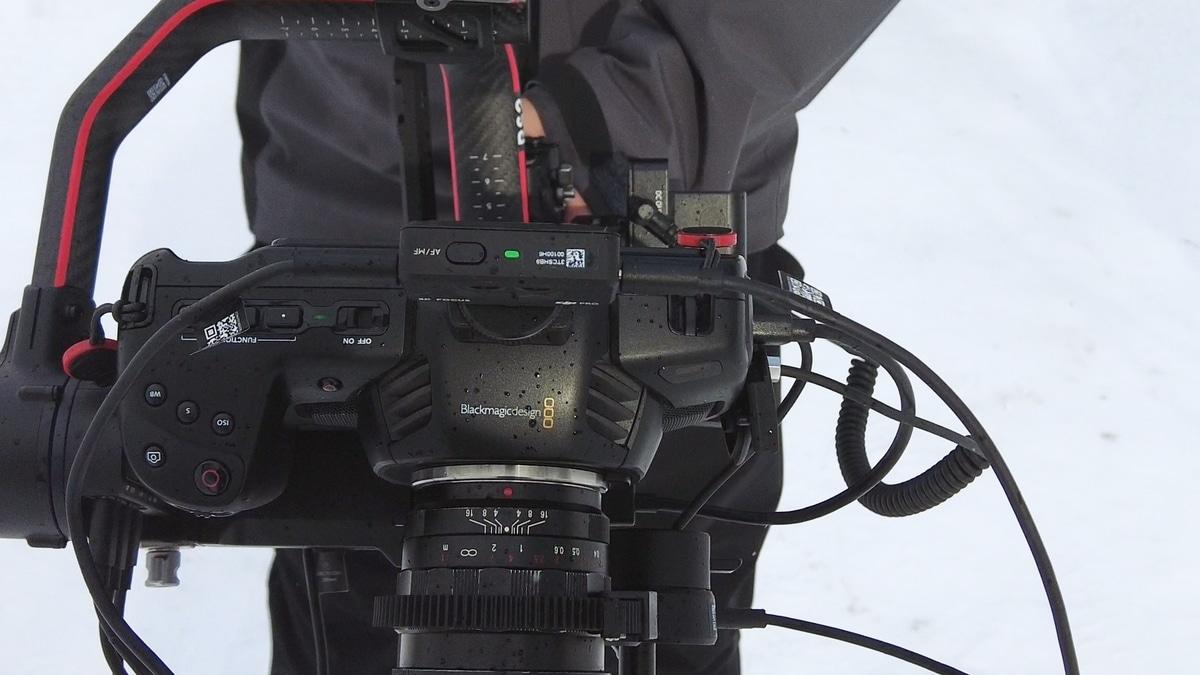 DJI 3D Focus System とDJI RS2